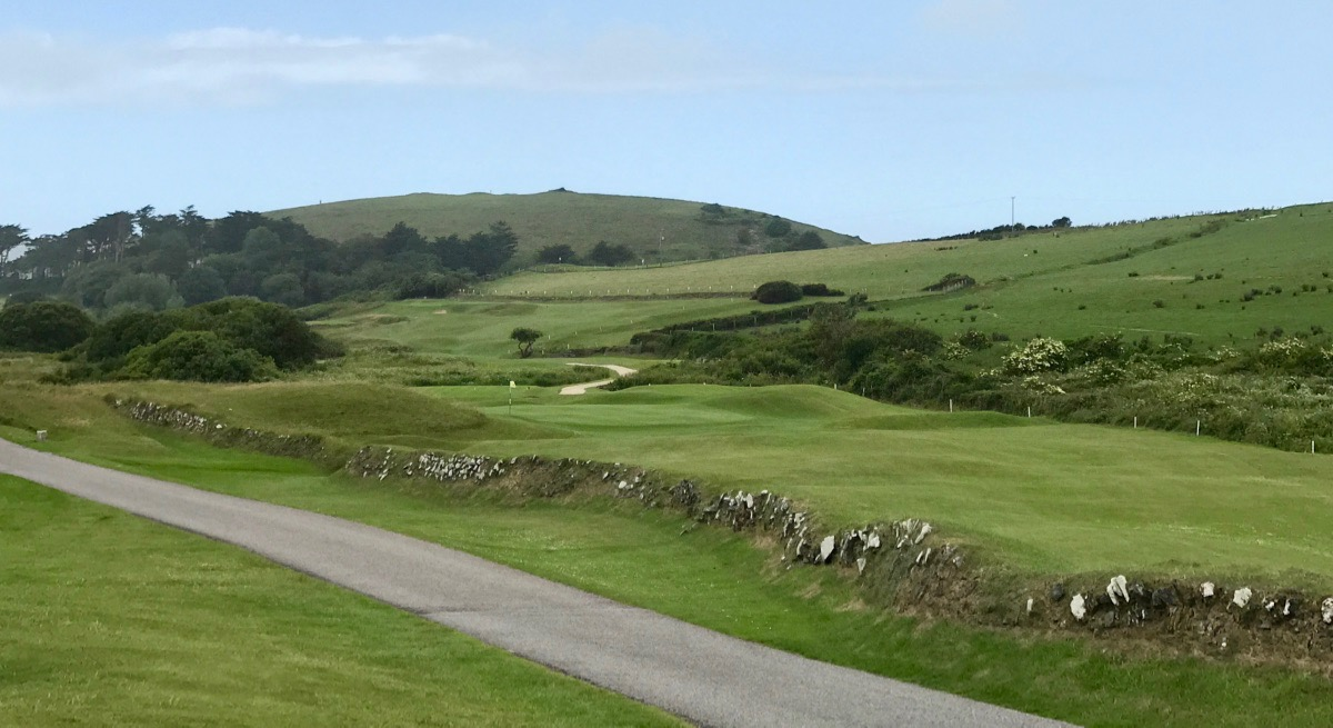 St Enodoc GC- hole 3