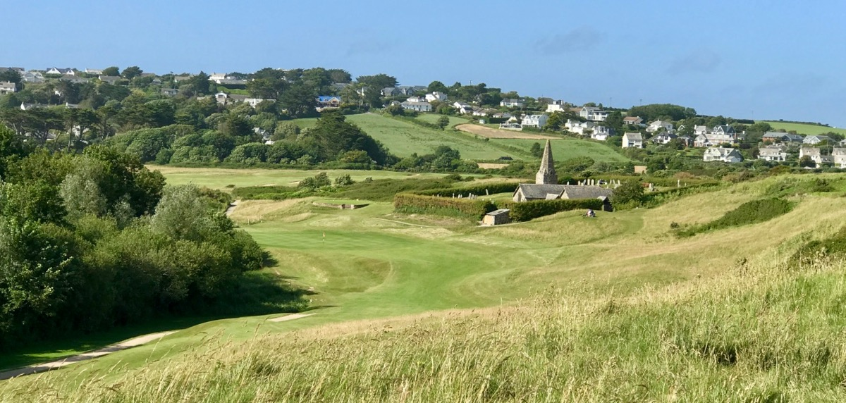 St Enodoc GC- hole 10