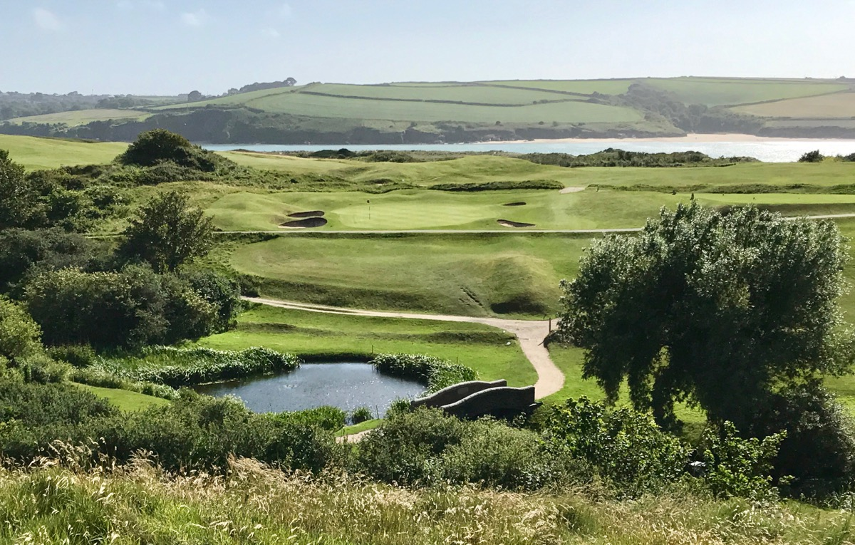 St Enodoc GC- hole 15