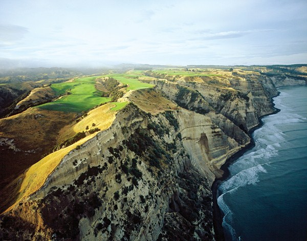 The Dramatic 16th Tee at Cape Kidnappers