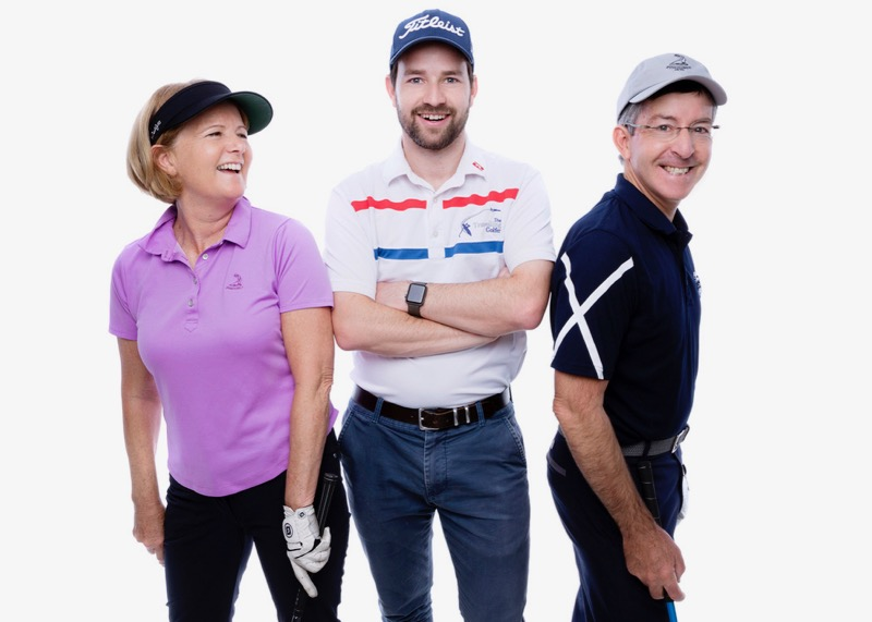 The Travelling Golfers- Rory, Heather & Peter