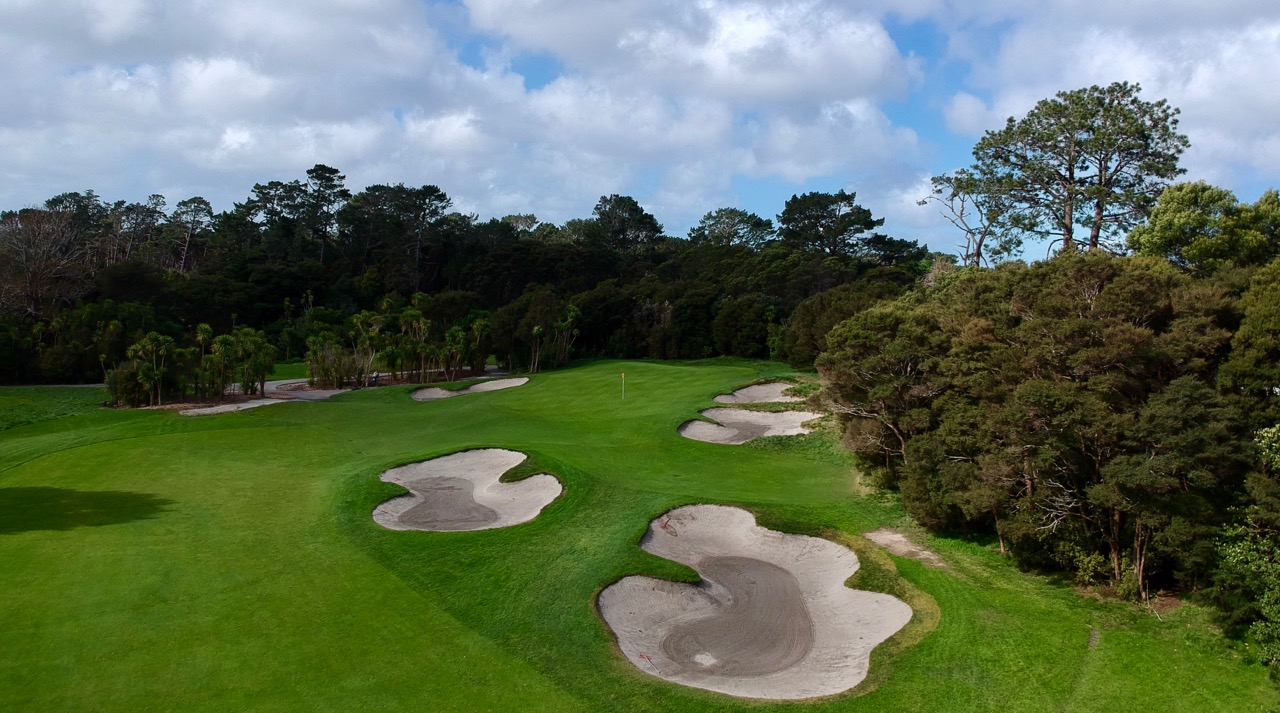 Titirangi GC-  Hole 13