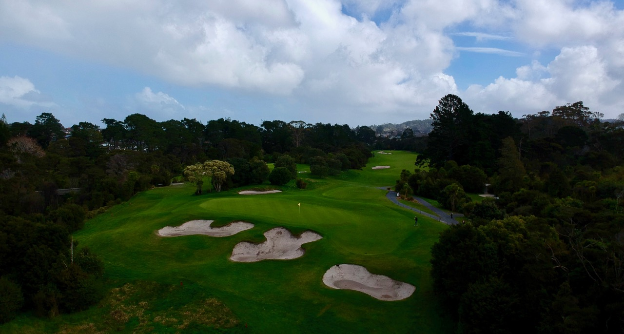 Titirangi GC-  hole 11
