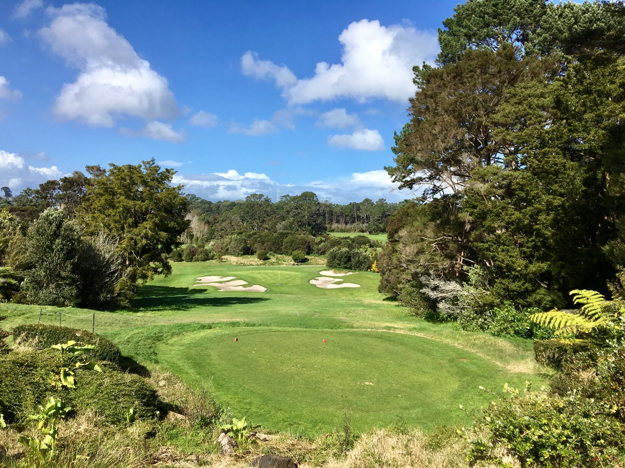 Titirangi GC-  hole 4