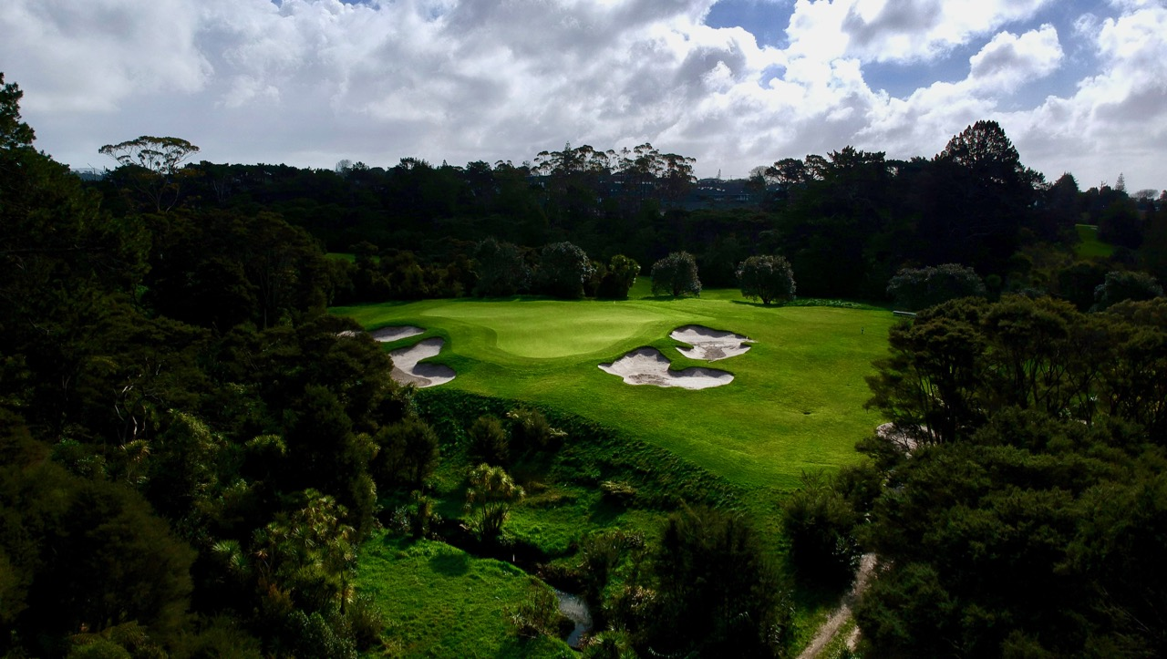 Titirangi GC-  hole 14