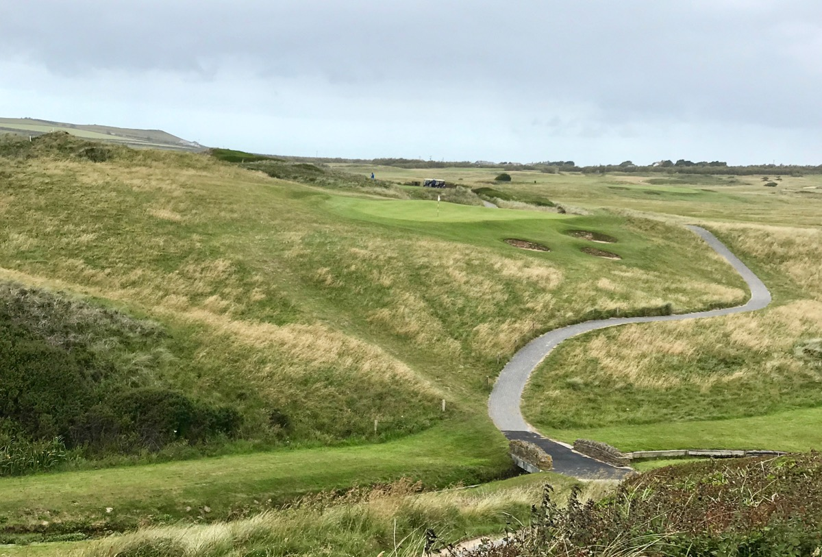 Trevose GC- hole 3