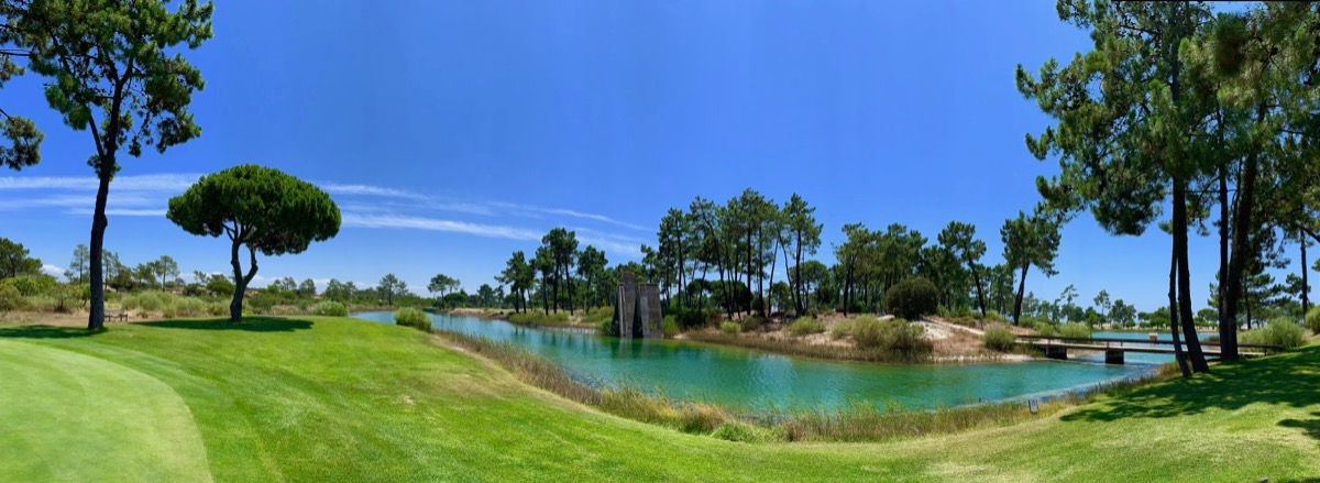 Troia GC- hole 1 back tee