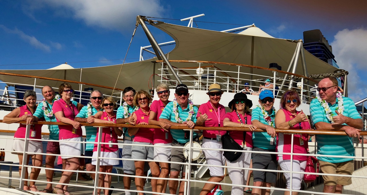Cruising' with Pride- Hosted Golf Tour of the Hawaiian Islands- 2018