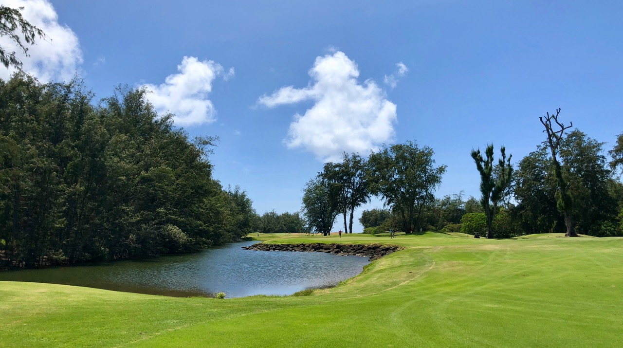 Turtle Bay Resort- Palmer Course- hole 16