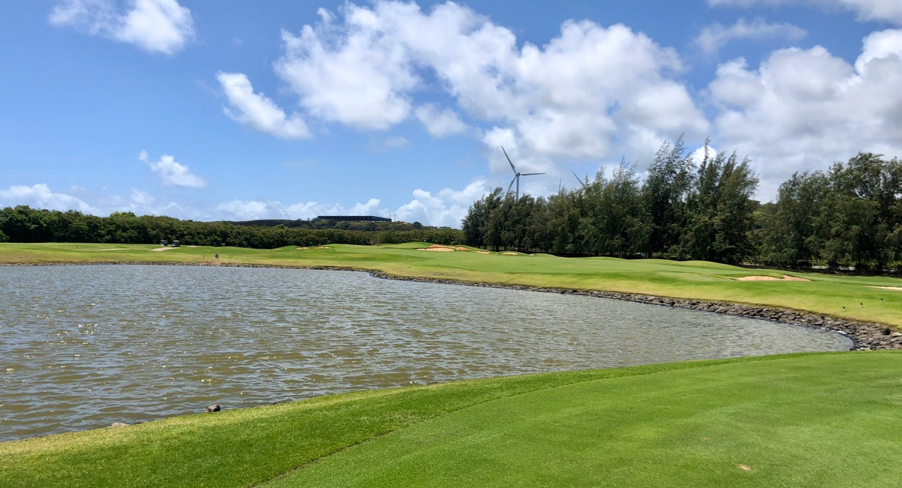 Turtle Bay Resort- Palmer Course- hole 3