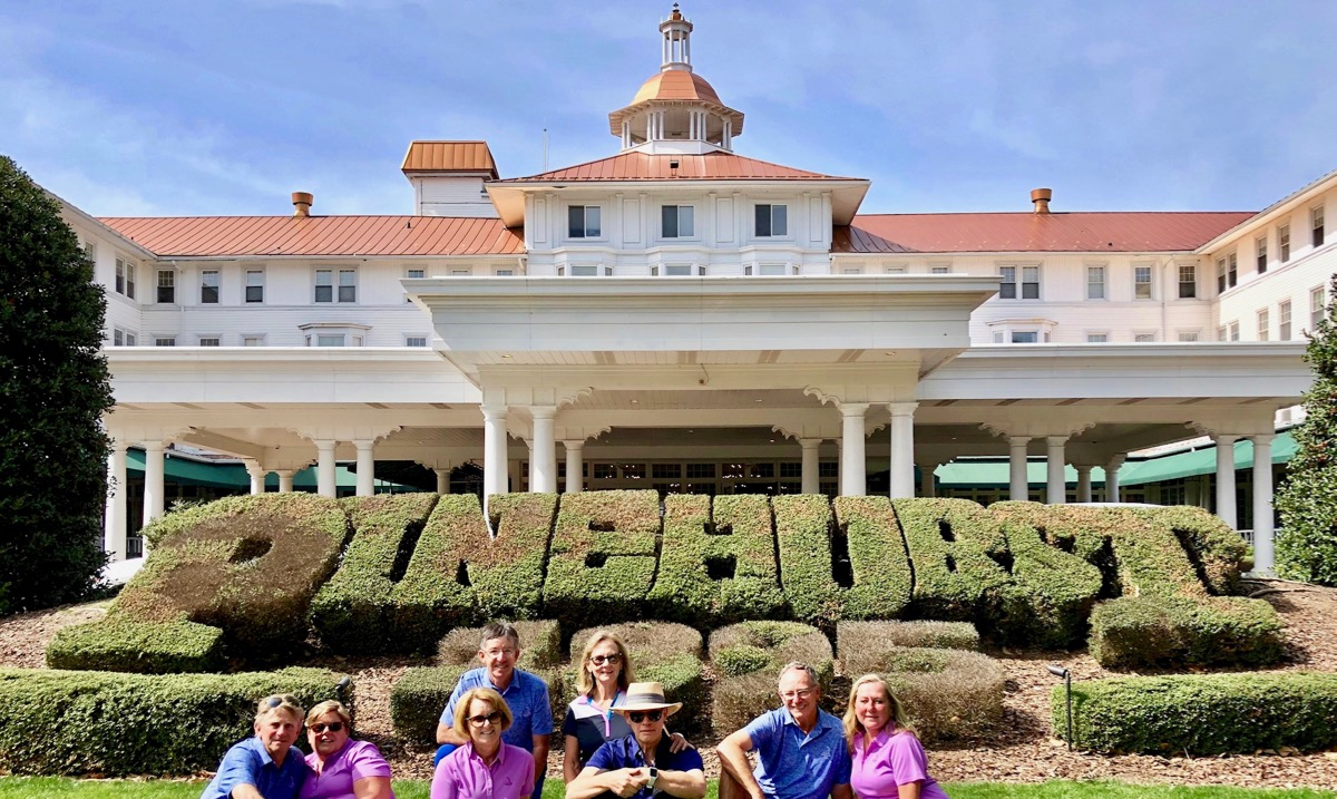 Pinehurst- group picture at The Carolina