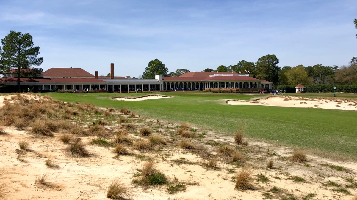 Pinehurst no 2-  hole 18 green
