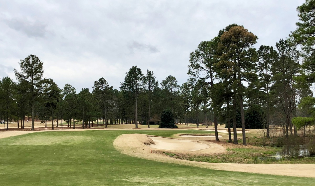 Pinehurst no 8-  hole 17