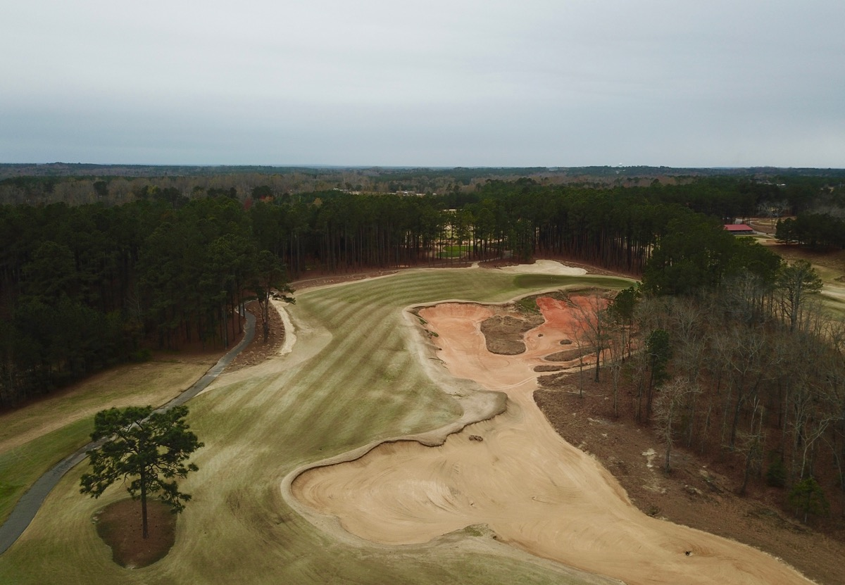 Tobacco Rd- hole 11: high view