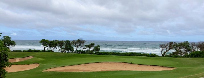 Wailua GC-  hole 17 from the tee