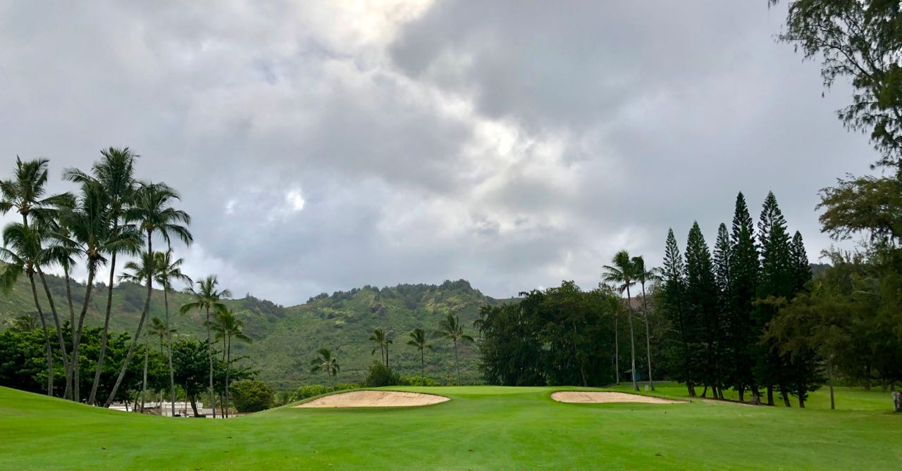 Wailua GC hole 18