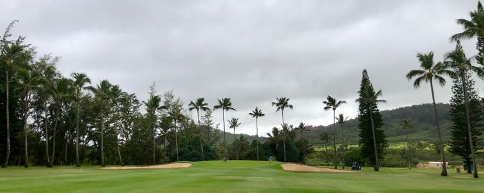Wailua GC-  hole 3