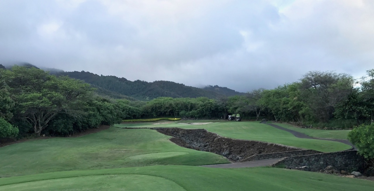 Kahili GC- hole 6