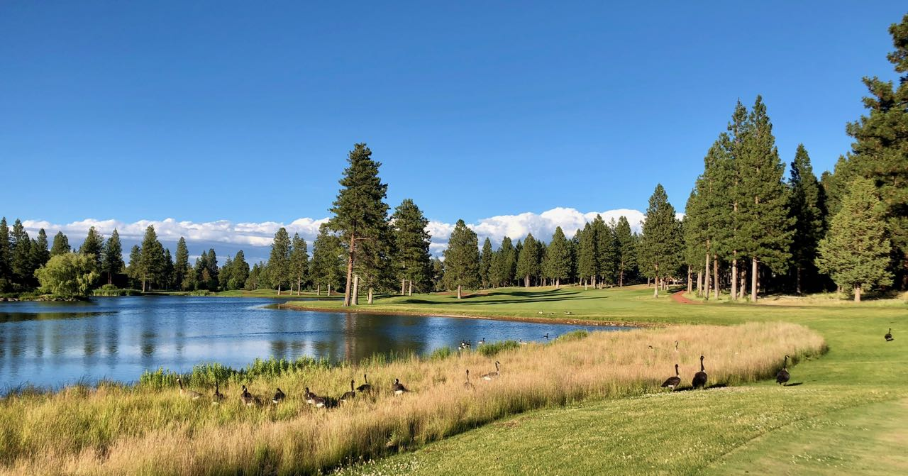 Aspen Lakes GC-  hole 11