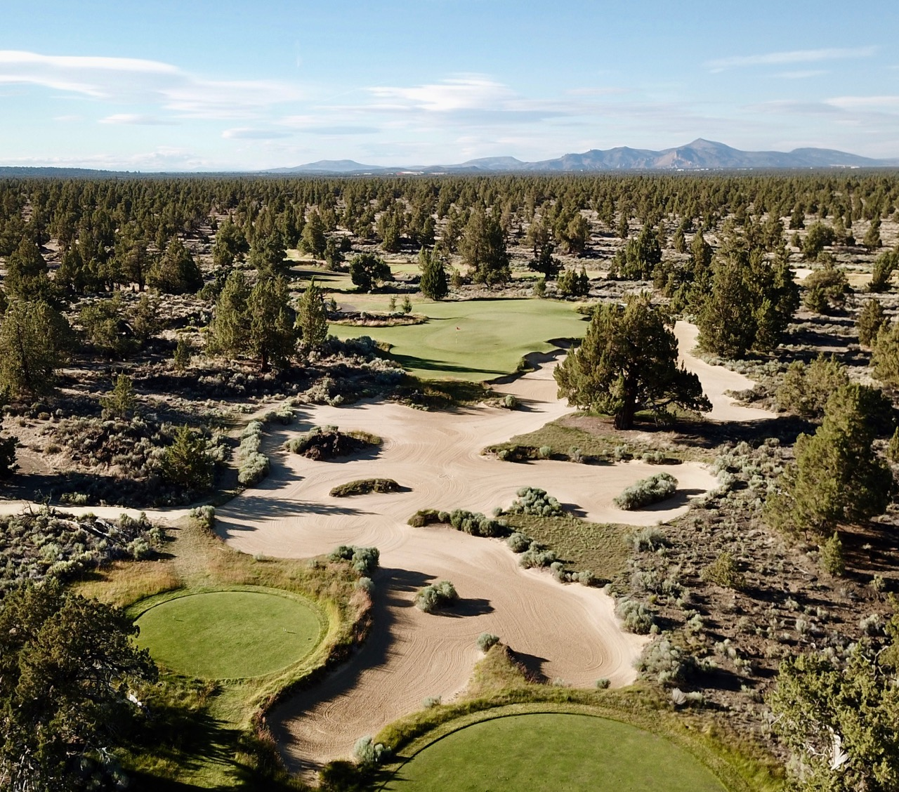 Pronghorn Resort- Fazio Course- hole 4