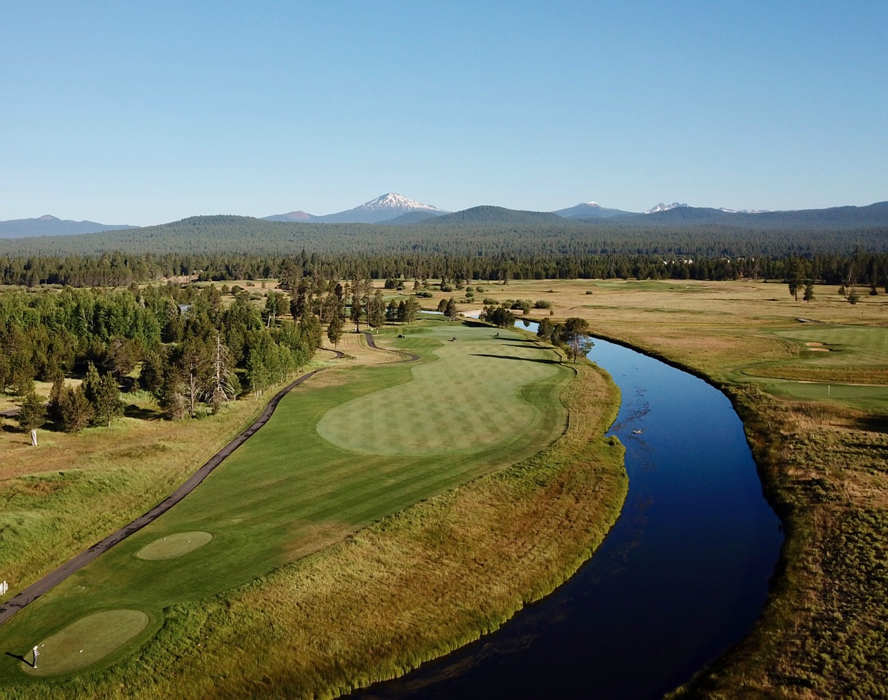 Sunriver Resort Crosswater hole 9e