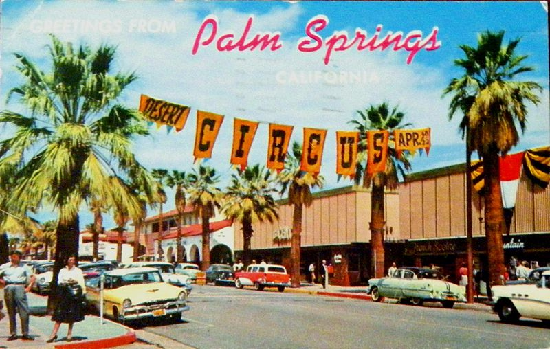 Palm Springs in the 1950s