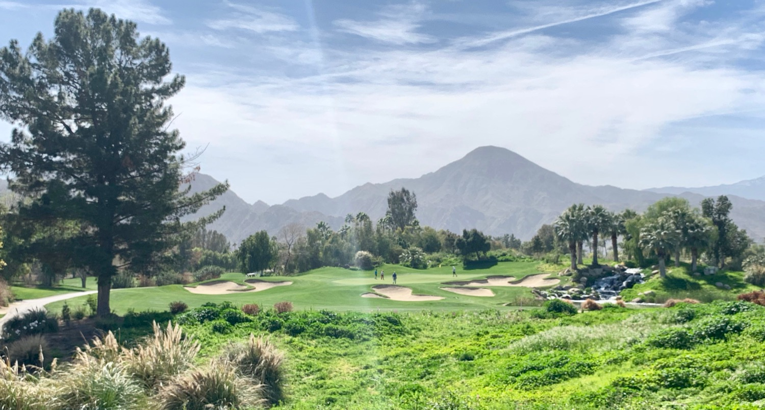 Indian Wells Golf Resort- Celebrity Course- hole 16