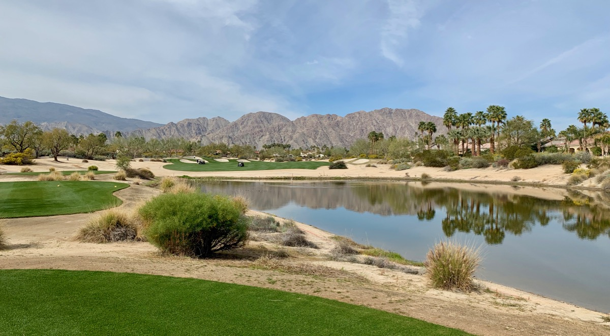 PGA WEST- Greg Norman Resort Course- hole 1