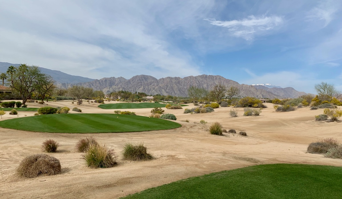 PGA WEST- Greg Norman Resort Course- hole 18