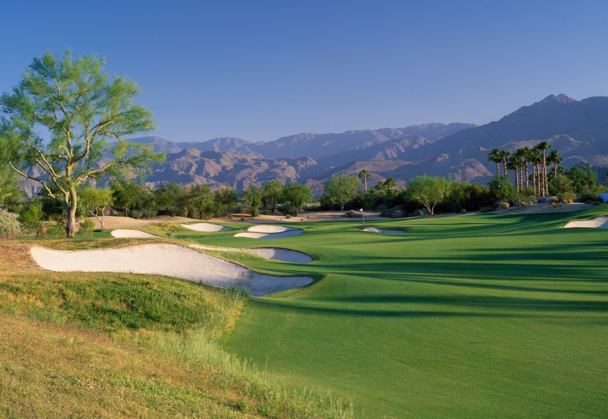 PGA WEST- Greg Norman Resort Course- hole 11