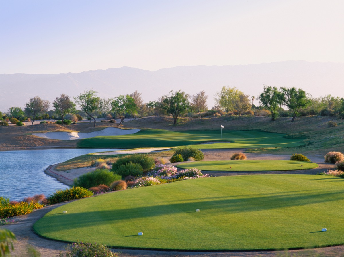 PGA WEST- Greg Norman Resort Course- hole 17