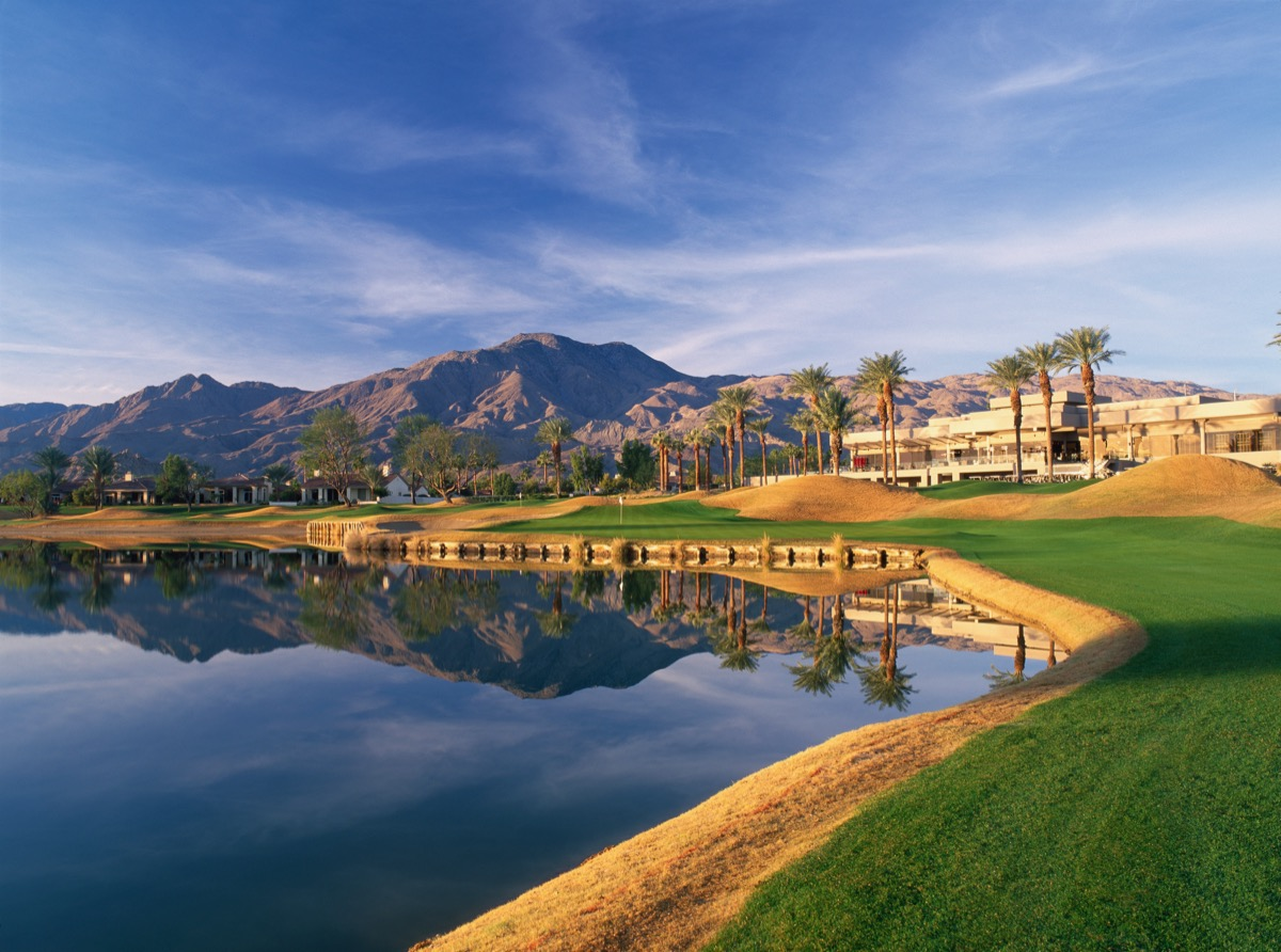 PGA WEST-NicklausTournament Course- hole 9