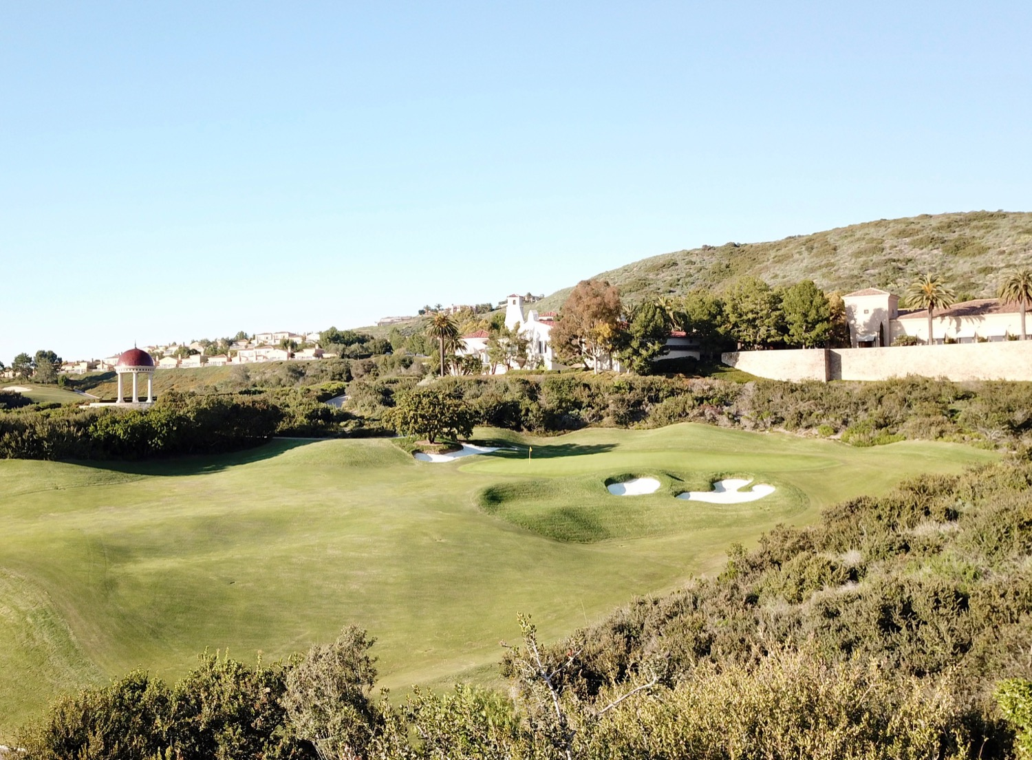 Pelican Hill GC- South Course- hole 18