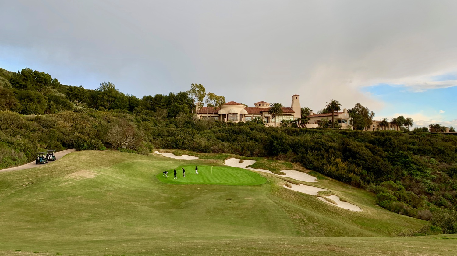 Pelican Hill GC- North Course- hole 18