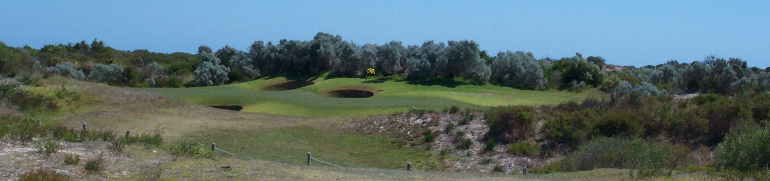 'Wee Tap'- hole16 at The Links at Kennedy Bay