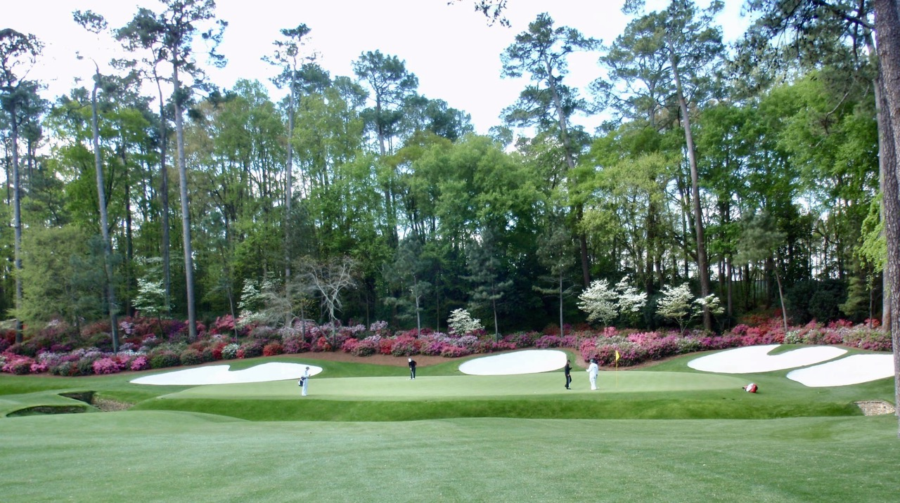 Augusta National Golf Course- home of The Masters
