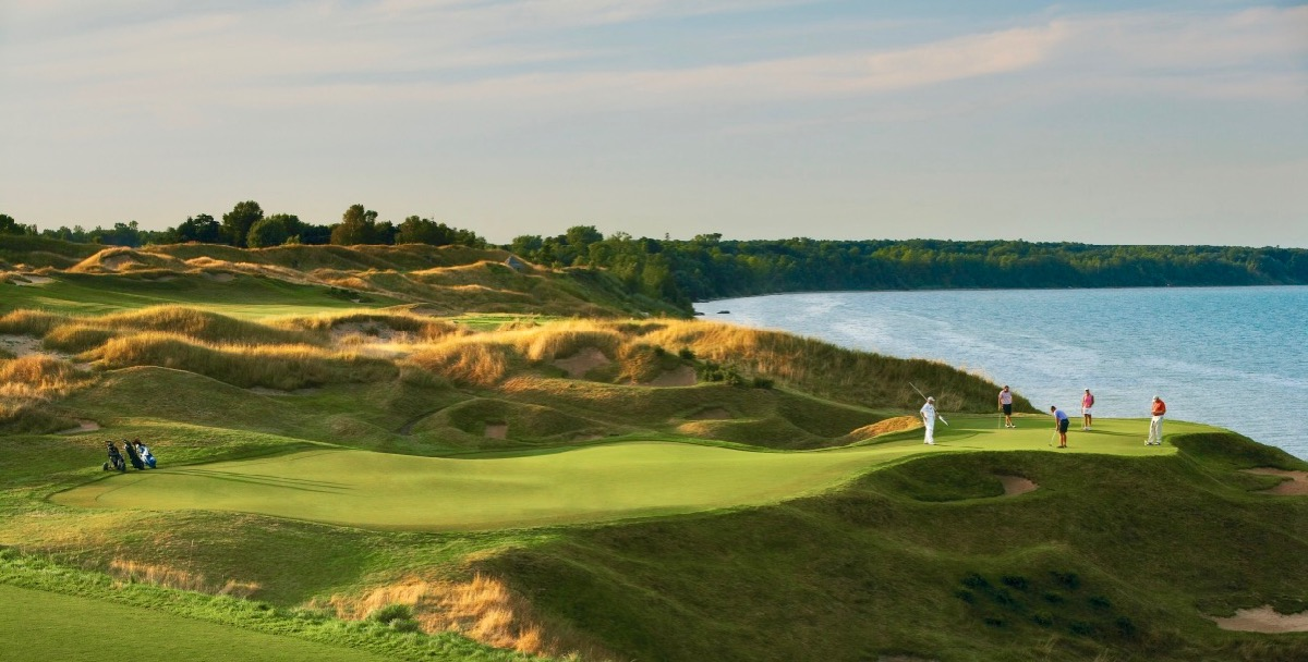 Whistling Straits- Straits course- hole 12