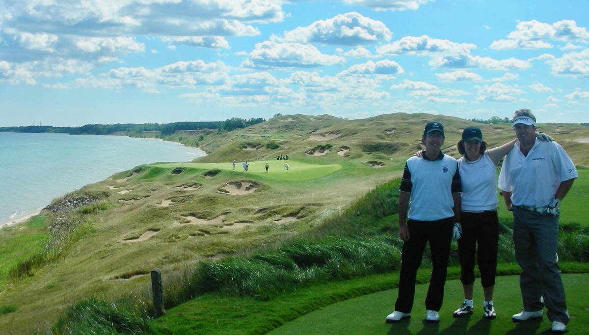 Whistling Straits- Straits course- hole 3