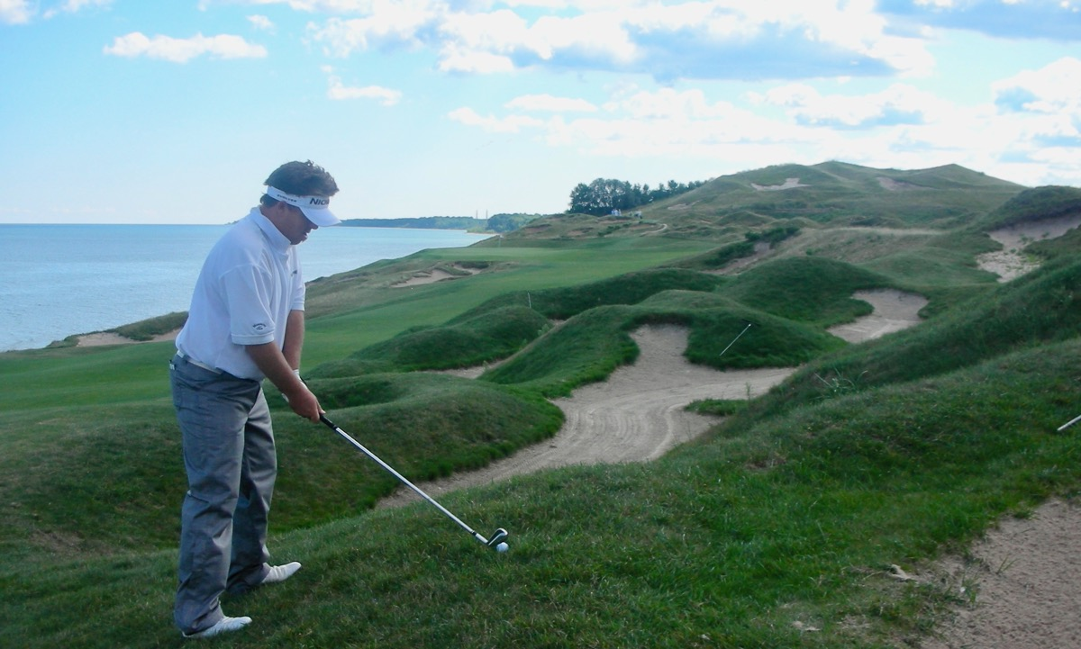 Whistling Straits- Straits course- hole 4