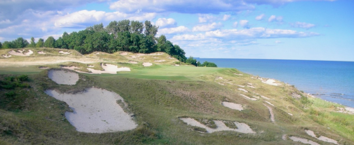 Whistling Straits- Straits course- hole 8