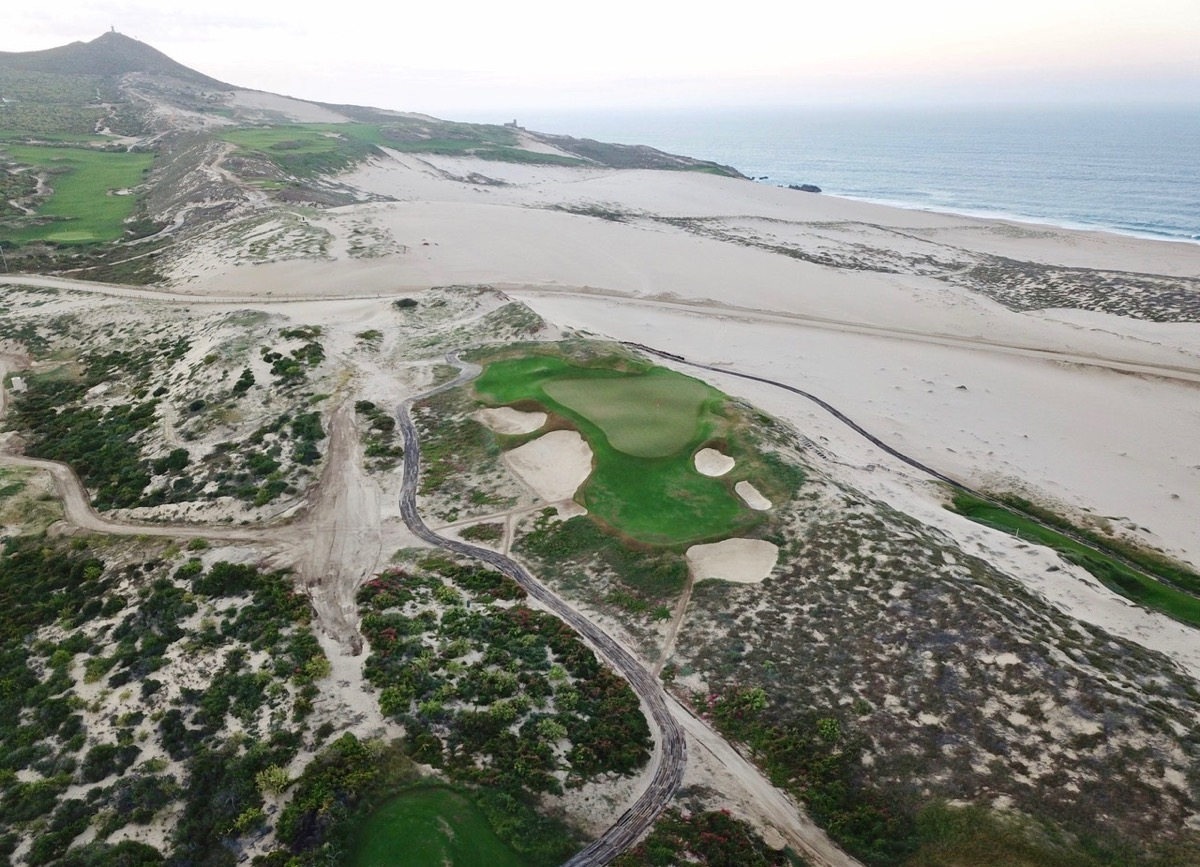 Diamante Dunes- 12th hole: high view