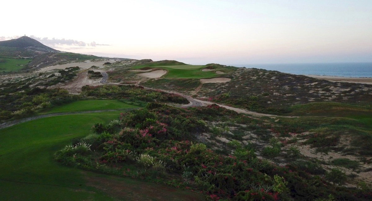 Diamante Dunes- 12th hole at dawn