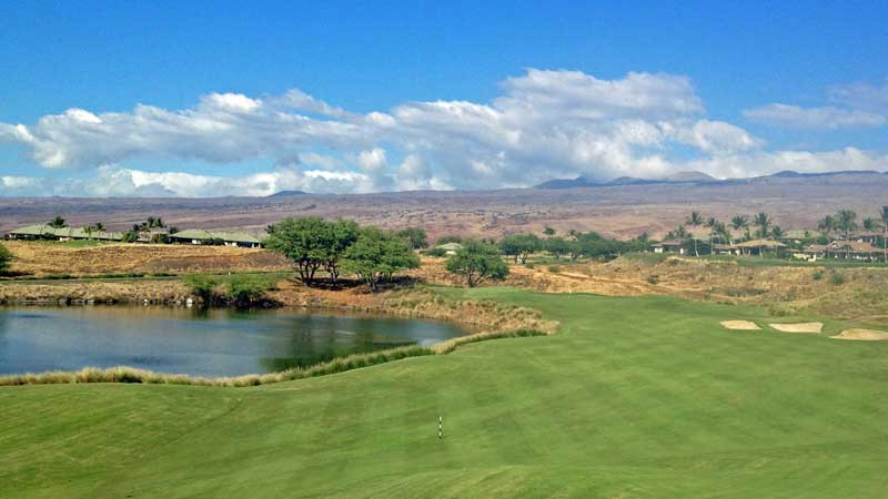 Hapuna GC- hole 5