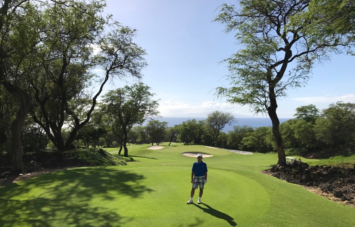 Wailea Golf Club Emerald Course- Hole 13
