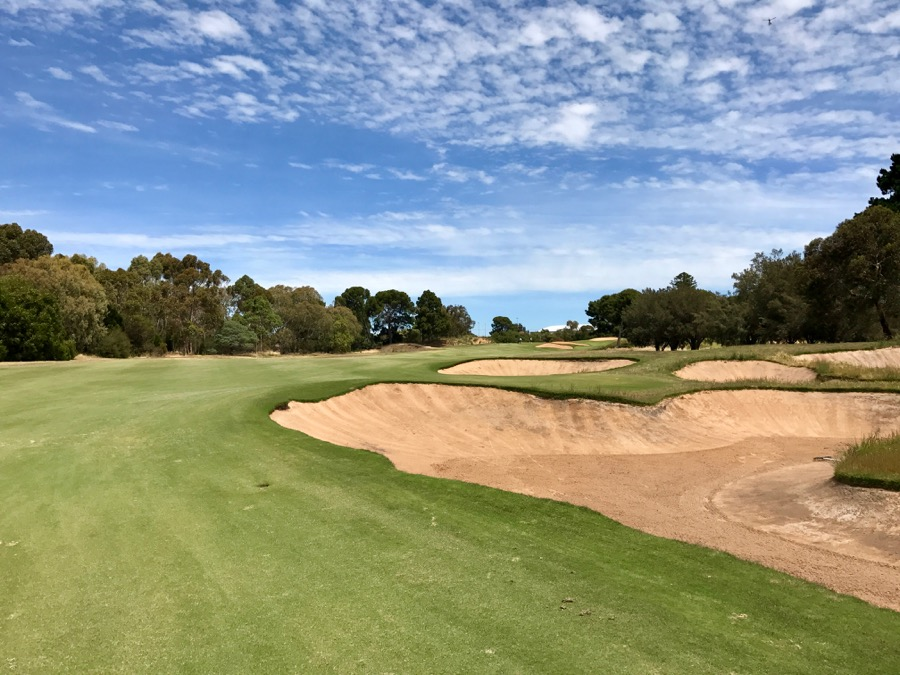 The opening hole at Kooyonga GC