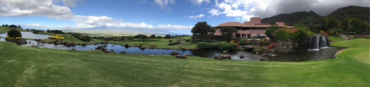 The King Kamehameha GC- clubhouse & surrounds