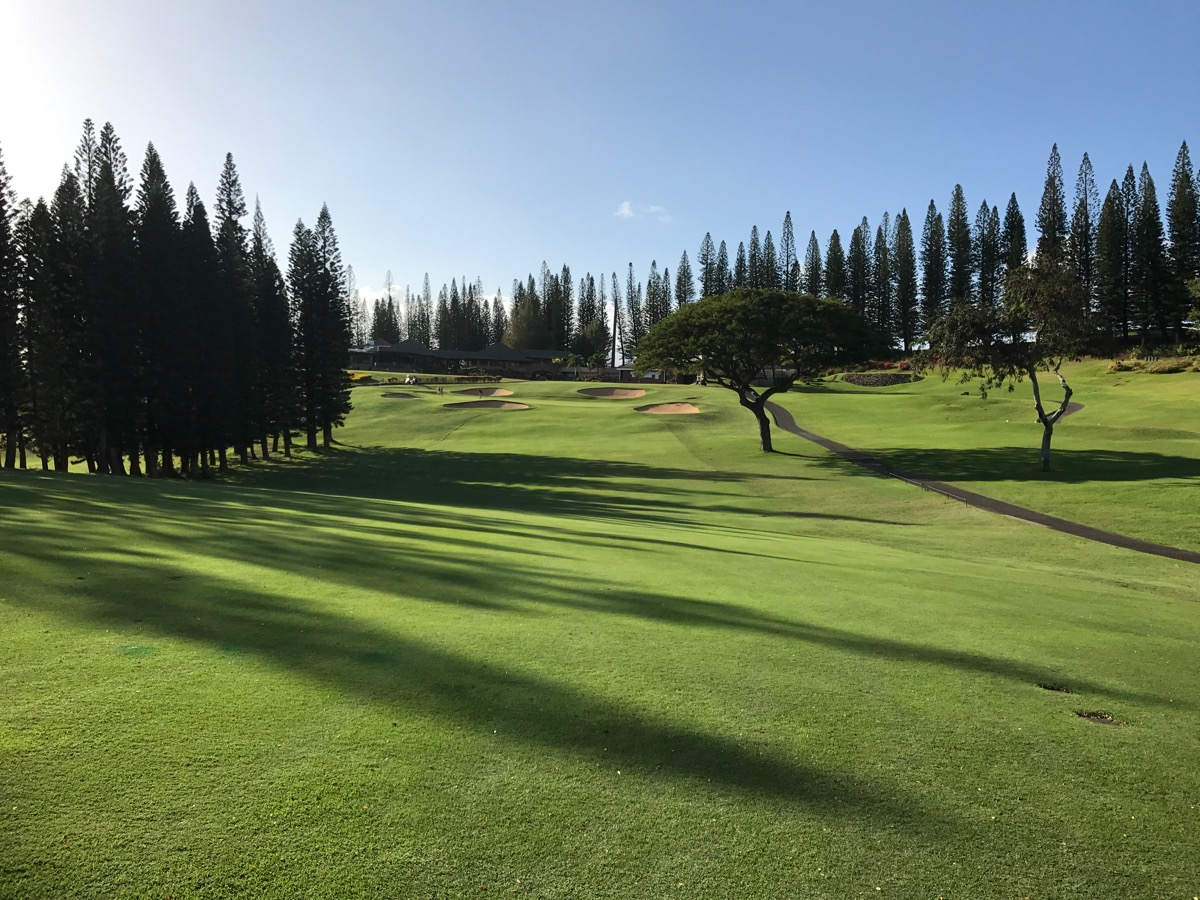 Kapalua- The Bay Course- hole 18