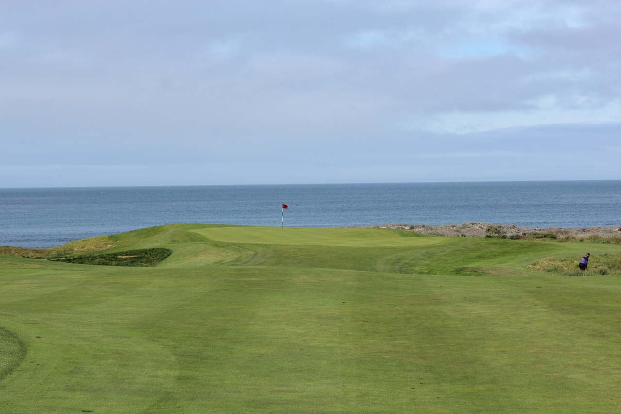 The Links at Spanish Bay- hole 14. Photo by Heather Wood from The Travelling Golfer