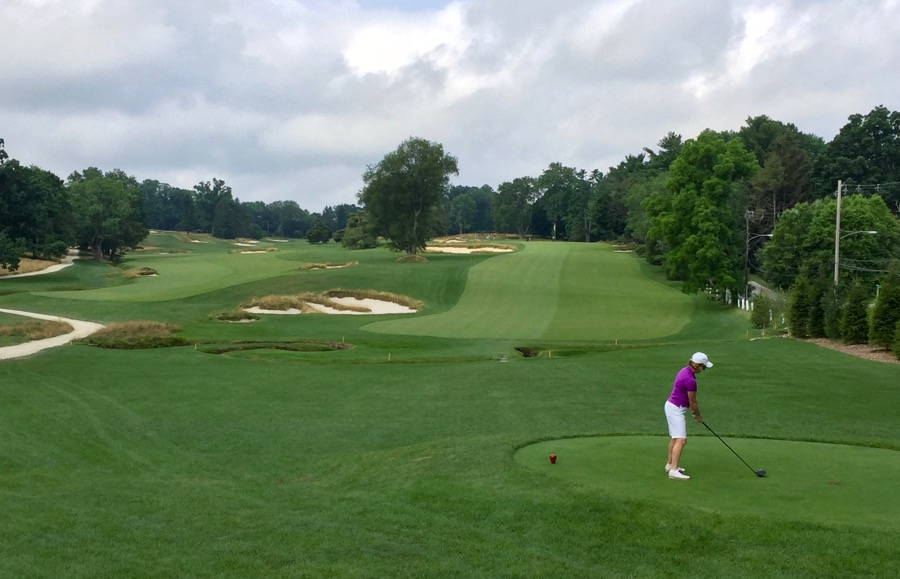 Merion GC- hole 2