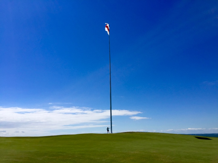 The National Golf Links Flagpole